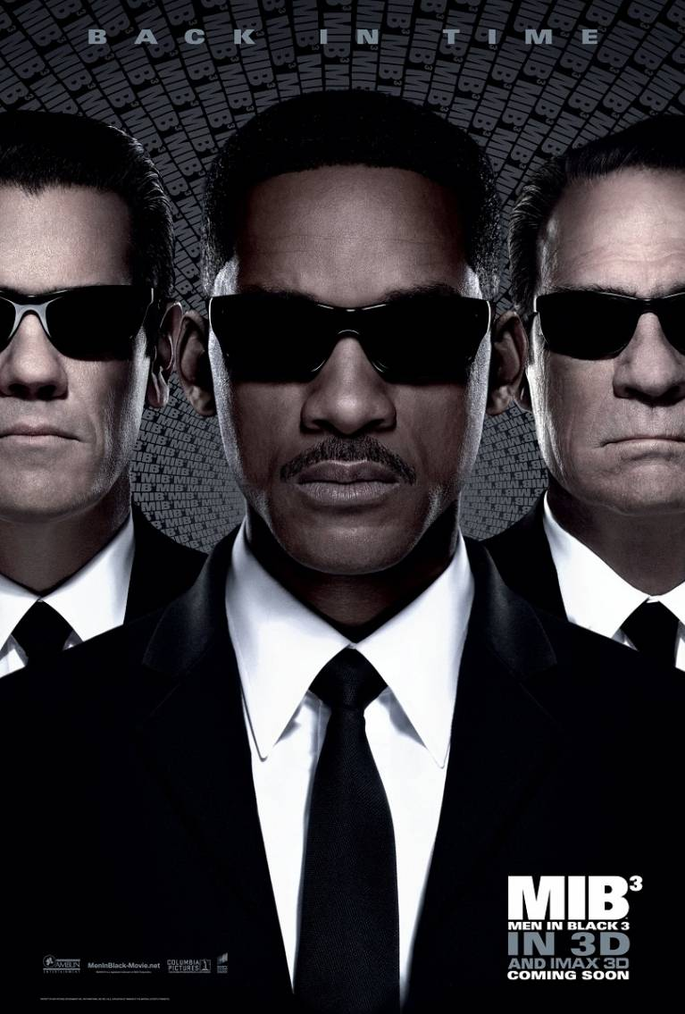 Men in Black III poster, copyright in handen van productiestudio en/of distributeur